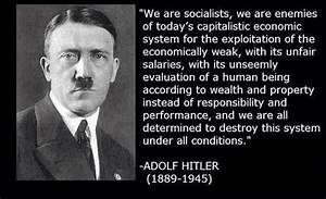 Leftist Social ... Social Darwinism Hitler Quotes