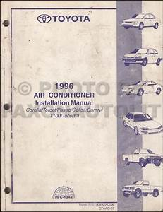 1996 Toyota Tacoma Pickup Wiring Diagram Manual Original