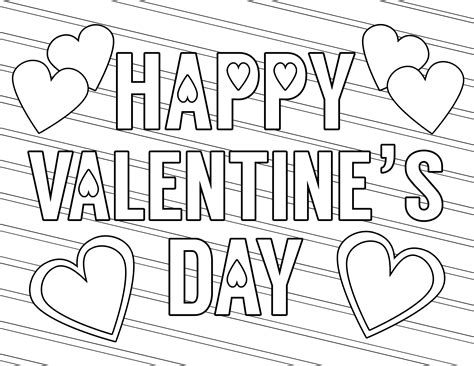 valentines day coloring page free printable coloring pages paper trail design