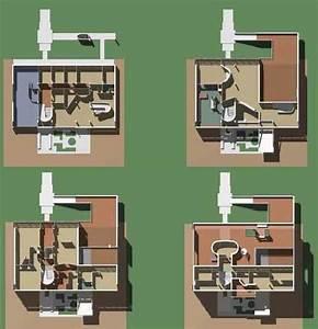 Villa Stein by Le Corbusier. Two-dimensional ...