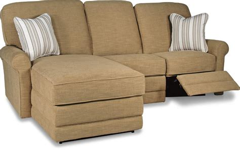 a la chaise two reclining sectional sofa with laf reclining
