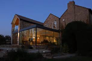 tudor homes interior design modern glass addition to otherwise traditional home