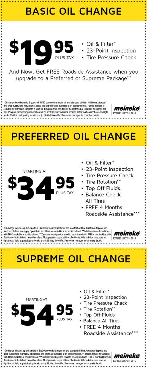 Meineke Oil Change >> Meineke Oil Change Coupons 2018