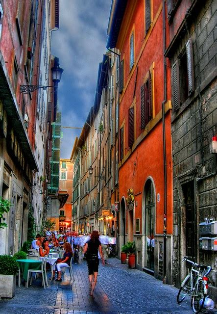 streets  rome  street  fontana  trevi