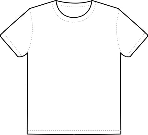White T Shirt Template Printable Tshirt Template Printable 360 Degree