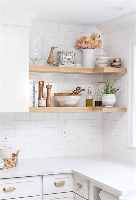 Why Open Kitchen Shelves Instead Of Cabinets?  Nonagonstyle