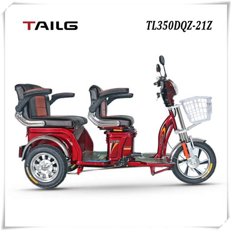 dongguan tailg motor electric tricycle for elderly