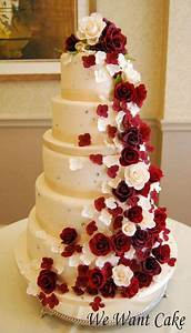 334 best images about Wedding Cakes - Red & White on ...
