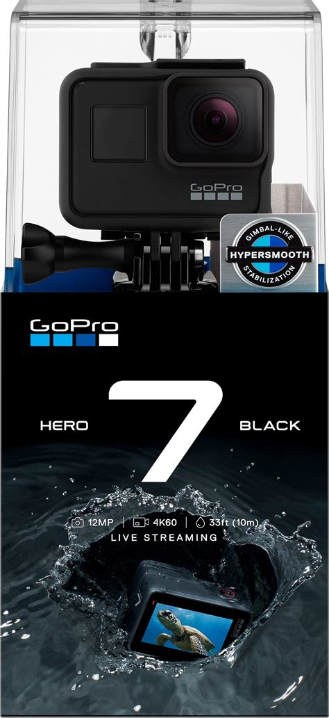 gopro hero black action camera