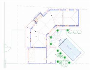 michel jarthon architecte dplg maisons With plan maison en u ouvert 8 maison contemporaine 18