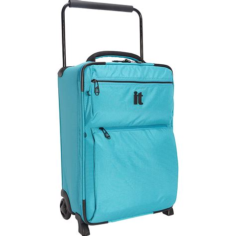 Light Luggage by It Worlds Lightest Light 4 Wheel Spinner Suitcase Cabin
