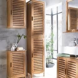 badezimmer holzmöbel badmöbel aus holz bambus ist am besten