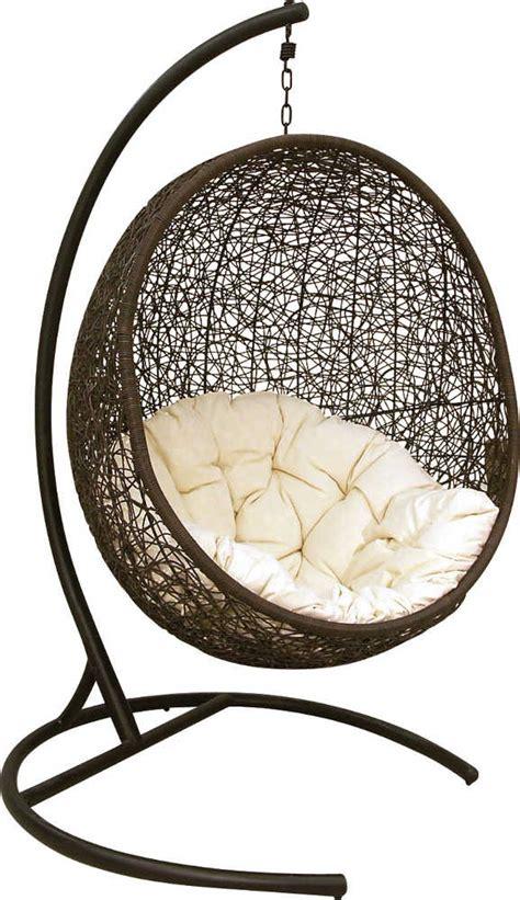 fauteuil de jardin oeuf suspendu