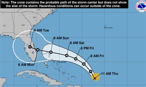 dorian takes aim  bahamas florida  wave