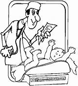 Pregnant Obstetrician Coloring Pages Obstetricians sketch template