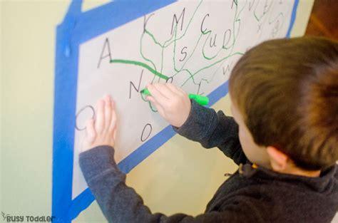 alphabet dot  dot easy learning activity