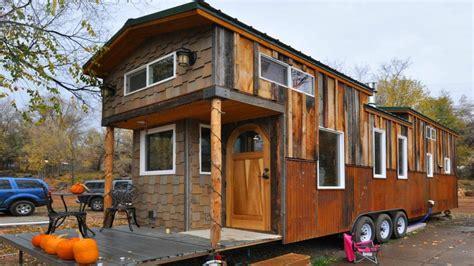 house trailer spacious tiny trailer home small homes design ideas