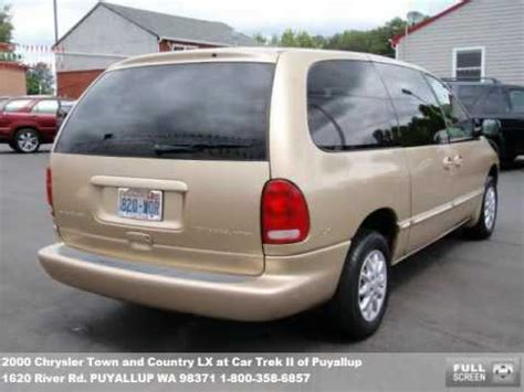 automotive repair manual 2000 chrysler town country navigation system 2000 chrysler town and country lx 4988 at car trek ii of puyallup in puyallup wa youtube