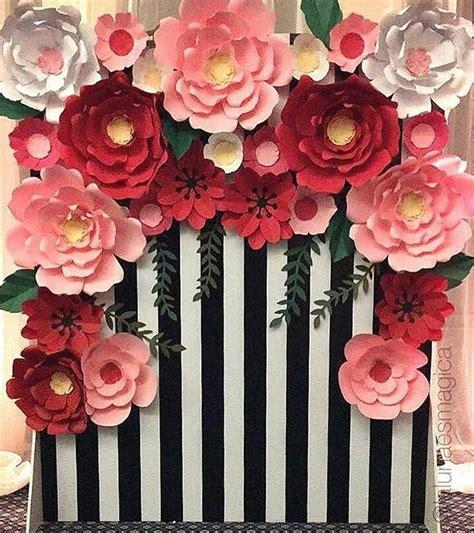 rosepetal backdrop tukang dekorasi backdrop engagement