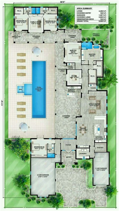 Pin by Katy Pingree on home floor plan Florida house