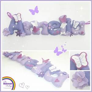 17 best images about felt name banner on pinterest baby With felt banner letters