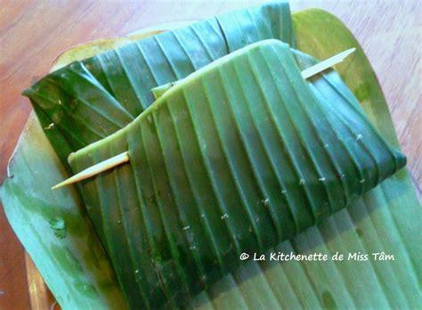 cours cuisine vietnamienne feuilles de bananier archives la kitchenette de miss