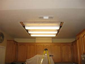 Fluorescent lighting how to replace light