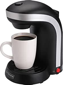 Grab a cup auto pause stops cycle if you need a cup before brewing is finished. Amazon.com: Kitchen Selectives CM-688 1-Cup Single Serve Drip Coffee Maker, Black: Single Serve ...