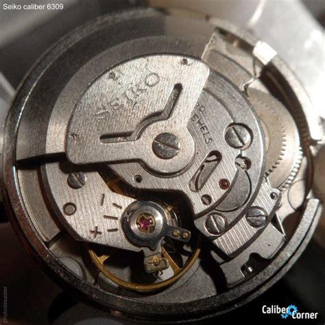seiko caliber 6309 watch movement calibercorner com