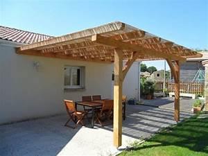 terrasse bois et pergolas campagne terrasse en bois With rideaux pour tonnelles exterieur 16 gazebo et abri soleil des idees pour jardin avec piscine