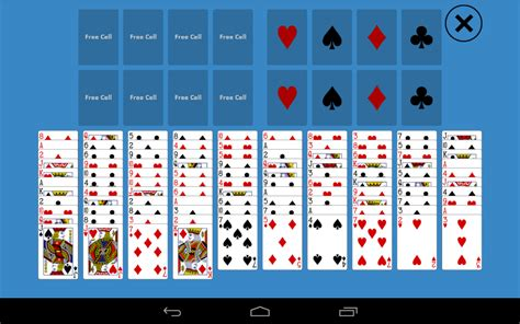 solitaire freecell two decks android apps on play