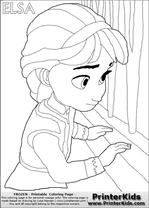 baby elsa coloring pages  getcoloringscom  printable colorings pages  print  color