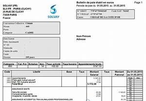 Exemple Bulletin De Paie Avec Indemnité De Licenciement : modele fiche de paie vacataire document online ~ Maxctalentgroup.com Avis de Voitures