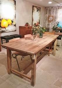 Table Ancienne De Ferme : table de ferme en pin ~ Dode.kayakingforconservation.com Idées de Décoration