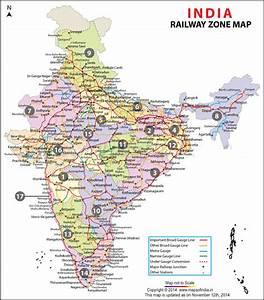 Indian Railways Zones Map Rrb Portal Indian Railways