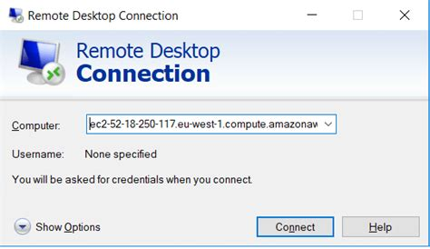 remote desktop connection  windows desktop