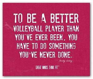Inspirational V... Short Volleyball Team Quotes