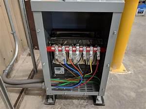 3 Phase 208v Wye To 480v Delta 15kva Transformer Ocpd