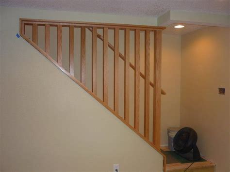Wall Banister by A Removable Stairway Wall And Railing Makes Moving