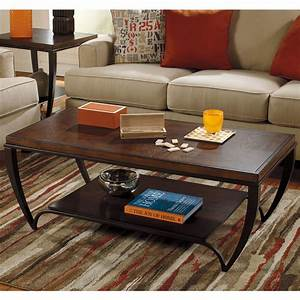 signature, design, by, ashley, brashawn, coffee, table