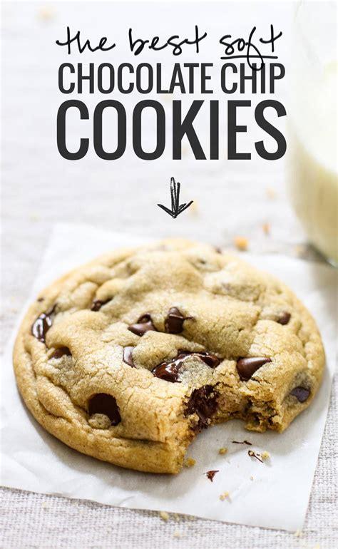 soft chocolate chip cookies recipe pinch  yum