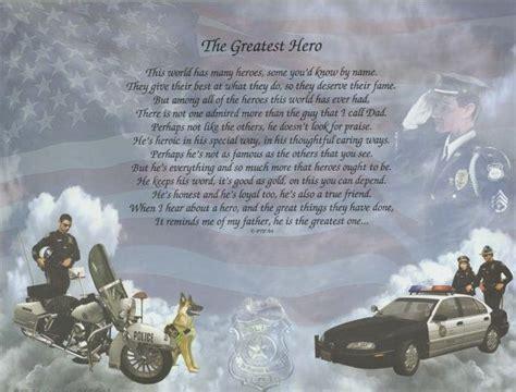 greatest hero poem police motorcycle