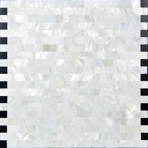 Of Pearl Subway Tile Uk by Of Pearl Tiles Subway Shell Mosaic Tile Kitchen