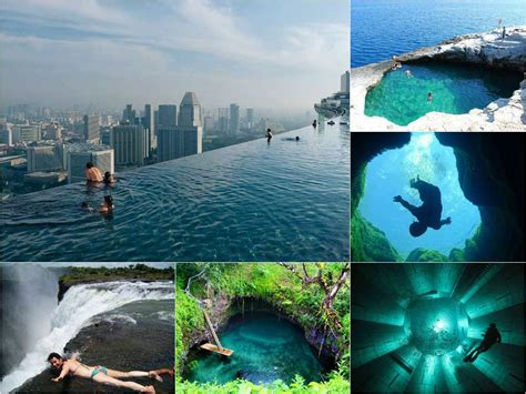 Top6 The Best Swimming Pools Around The World