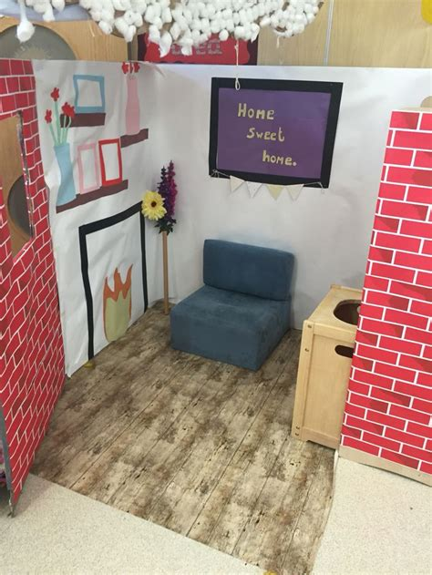play area ideas eyfs home corner role play area all about school pinterest role play areas classroom
