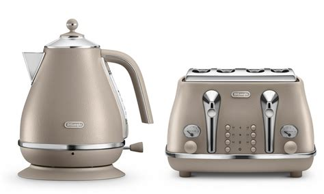 Delonghi Icona Kettle And Toaster Black by Delonghi Kettle And Toaster Set Groupon Goods