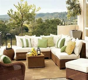 Sofa Für Balkon : 40 neue ideen f r balkon dekoration ~ Eleganceandgraceweddings.com Haus und Dekorationen