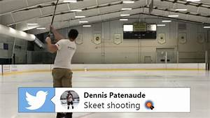 Hockey fans should add skeet shooting to their trick shot ...