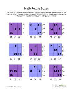 fun math worksheets images fun math math math