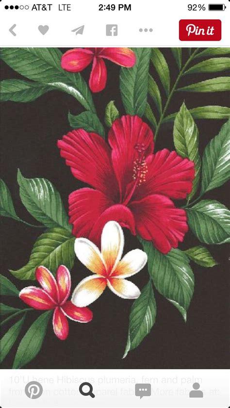 pin  catalina butts  floral   hawaiian flower